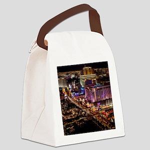 LAS VEGAS 2 Canvas Lunch Bag