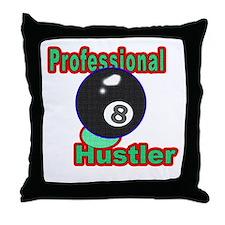 Pro 8 Ball Hustler Throw Pillow