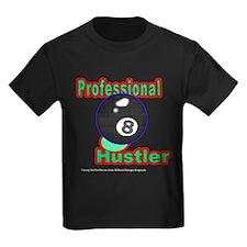 Pro 8 Ball Hustler Kids Dark T-Shirt