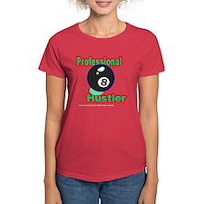 Pro 8 Ball Hustler Women's Dark T-Shirt