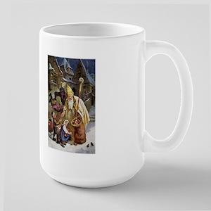 Krampus 005 Large Mug Mugs