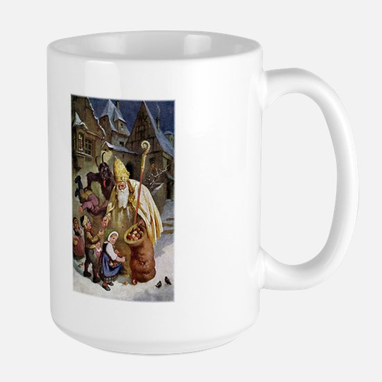 Krampus 005 Large Mug Mugs