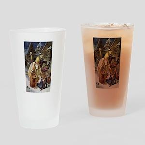 Krampus 005 Drinking Glass