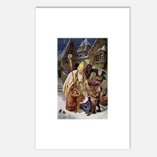 Krampus 005 Postcards (Package of 8)
