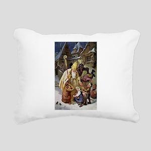 Krampus 005 Rectangular Canvas Pillow