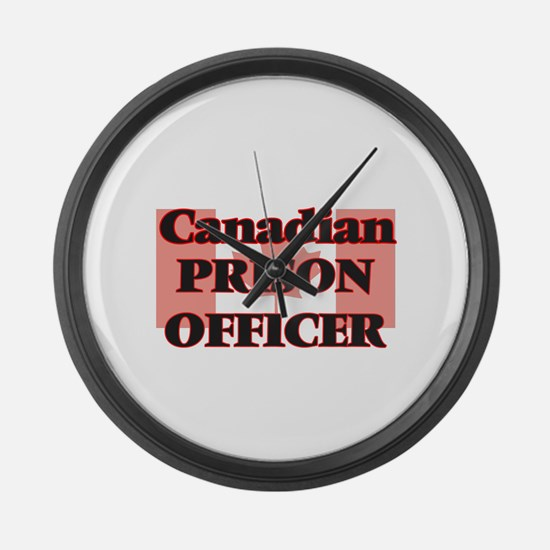 Canadian Prison Officer Large Wall Clock