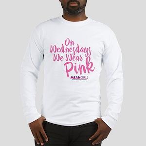 Mean Girls - Wednesdays Wear P Long Sleeve T-Shirt