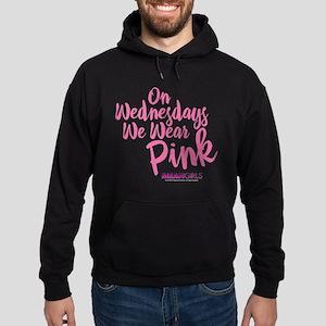 Mean Girls - Wednesdays Wear Pink Hoodie (dark)