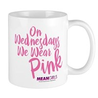 Mean Girls Wear Pink Mug