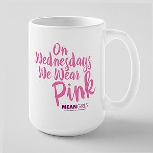 Mean Girls - Wednesdays Wear Pink Large Mug