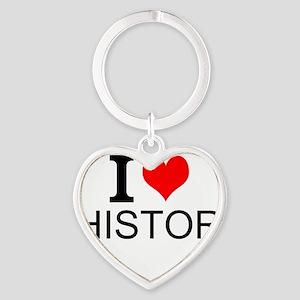 I Love History Keychains