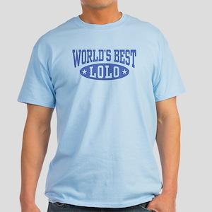 World's Best Lolo Light T-Shirt