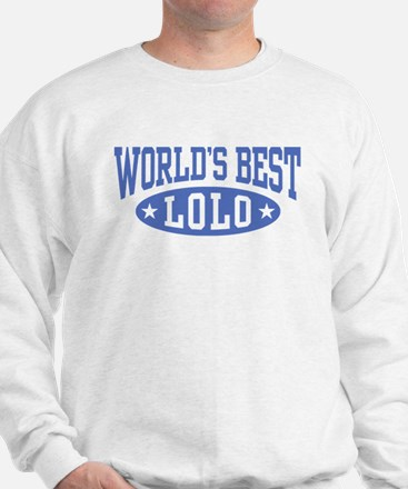World's Best Lolo Sweatshirt