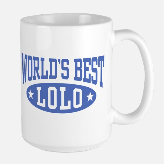 World's Best Lolo Large Mug