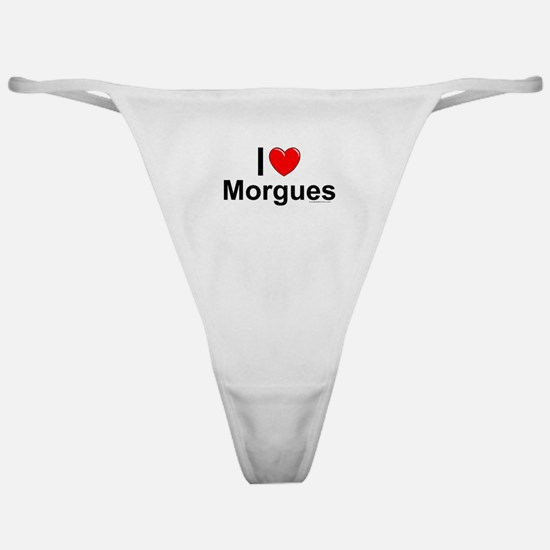 Morgues Classic Thong