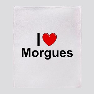 Morgues Throw Blanket
