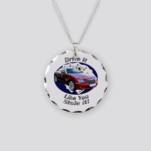 Chrysler Crossfire Coupe Necklace Circle Charm