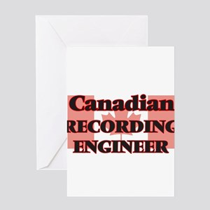 Canadian Recording Engineer Greeting Cards