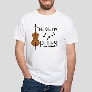 Cello Music Cellist Rules T-Shirt