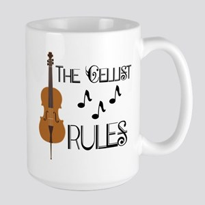 Cello Music Cellist Rules Mugs