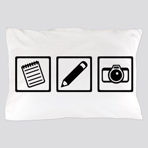 Journalist equipment Pillow Case