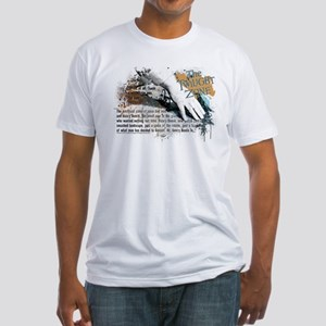 Last Man on Earth Glasses Fitted T-Shirt