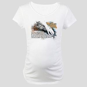 Last Man on Earth Glasses Maternity T-Shirt