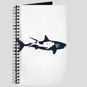 shark scuba diver hai tauchen taucher divi Journal