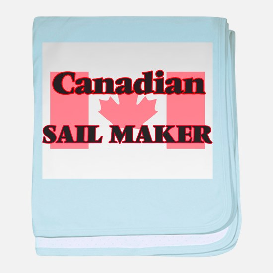 Canadian Sail Maker baby blanket