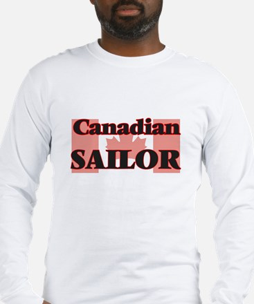 Canadian Sailor Long Sleeve T-Shirt