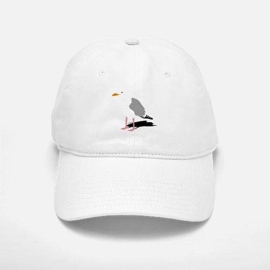 möwe seagull gull bird harbour beach sailing s Baseball Baseball Cap