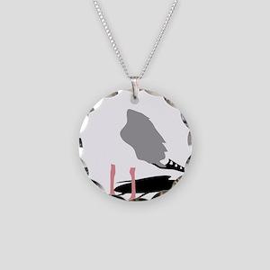 möwe seagull gull bird harbo Necklace Circle Charm