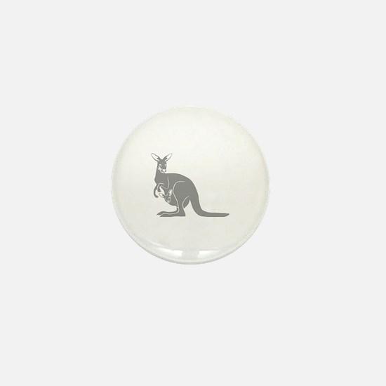känguru kangaroo australien australia Mini Button