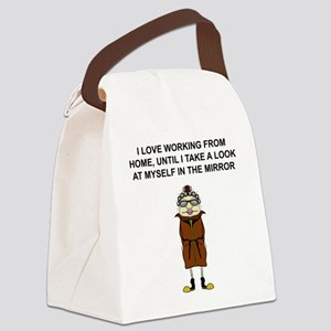 Jane Canvas Lunch Bag