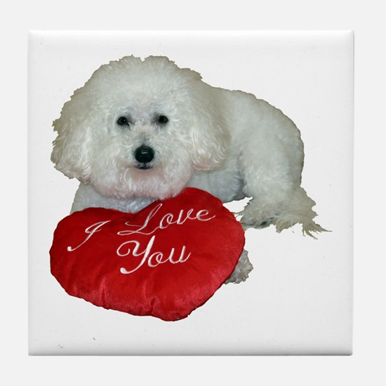 Cute Lover valentines Tile Coaster