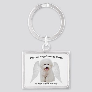 Bichons are Angels Keychains