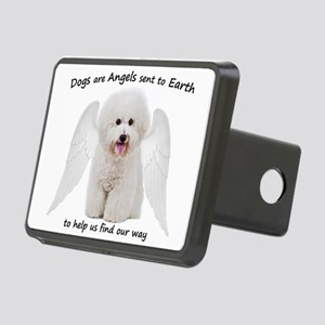 Bichons are Angels Hitch Cover