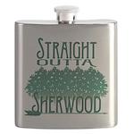Straight Outta Sherwood Flask