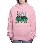 Straight Outta Sherwood Women's Hooded Sweatshirt
