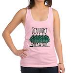 Straight Outta Sherwood Racerback Tank Top