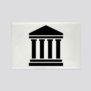 Court justice symbol Rectangle Magnet