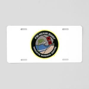 FBI Miami SWAT Aluminum License Plate