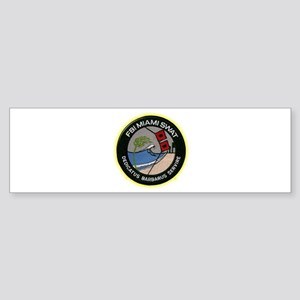 FBI Miami SWAT Sticker (Bumper)