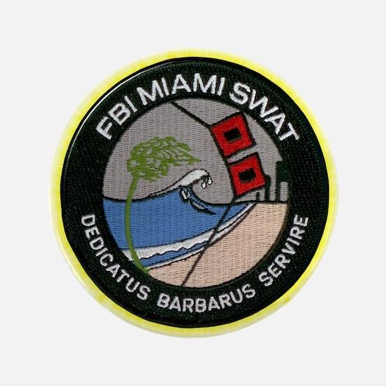 FBI Miami SWAT Button