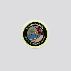FBI Miami SWAT Mini Button