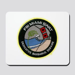 FBI Miami SWAT Mousepad