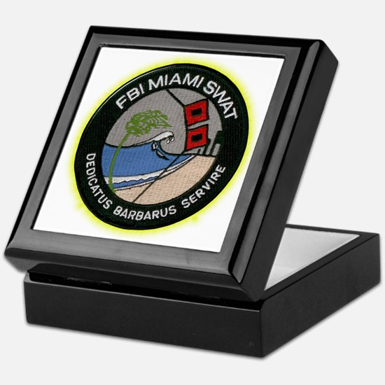 FBI Miami SWAT Keepsake Box