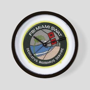 FBI Miami SWAT Wall Clock