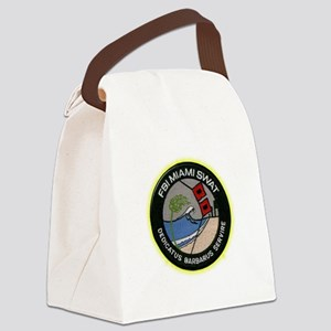 FBI Miami SWAT Canvas Lunch Bag