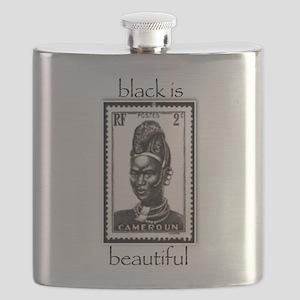 beautiful woman Flask